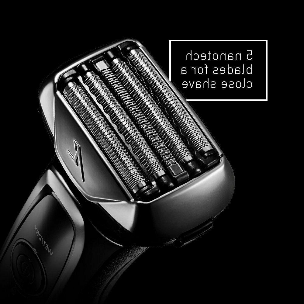 Panasonic ES-LV65-S Men's 5-Blade Electric with Shave Sensor