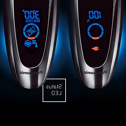 Men's 5-Blade Cordless Shave Technology and Wet/Dry Convenience,