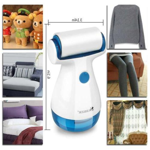 Portable Electric Clothes Lint Pill Fluff Remover Fabrics Sw