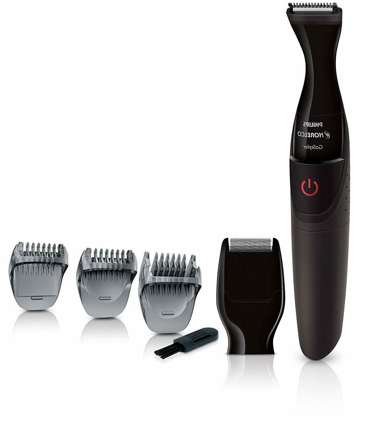 Philips Norelco Face Hair Trimmer Beard Mustache Clipper Ele