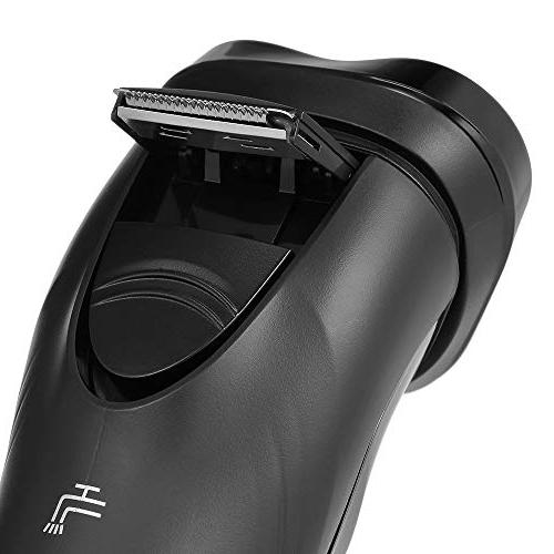 Anself Flyco Electric Shaver with 3D Heads Men's Rechargeable Shaving Razor Fully Washable Hair Trimmer
