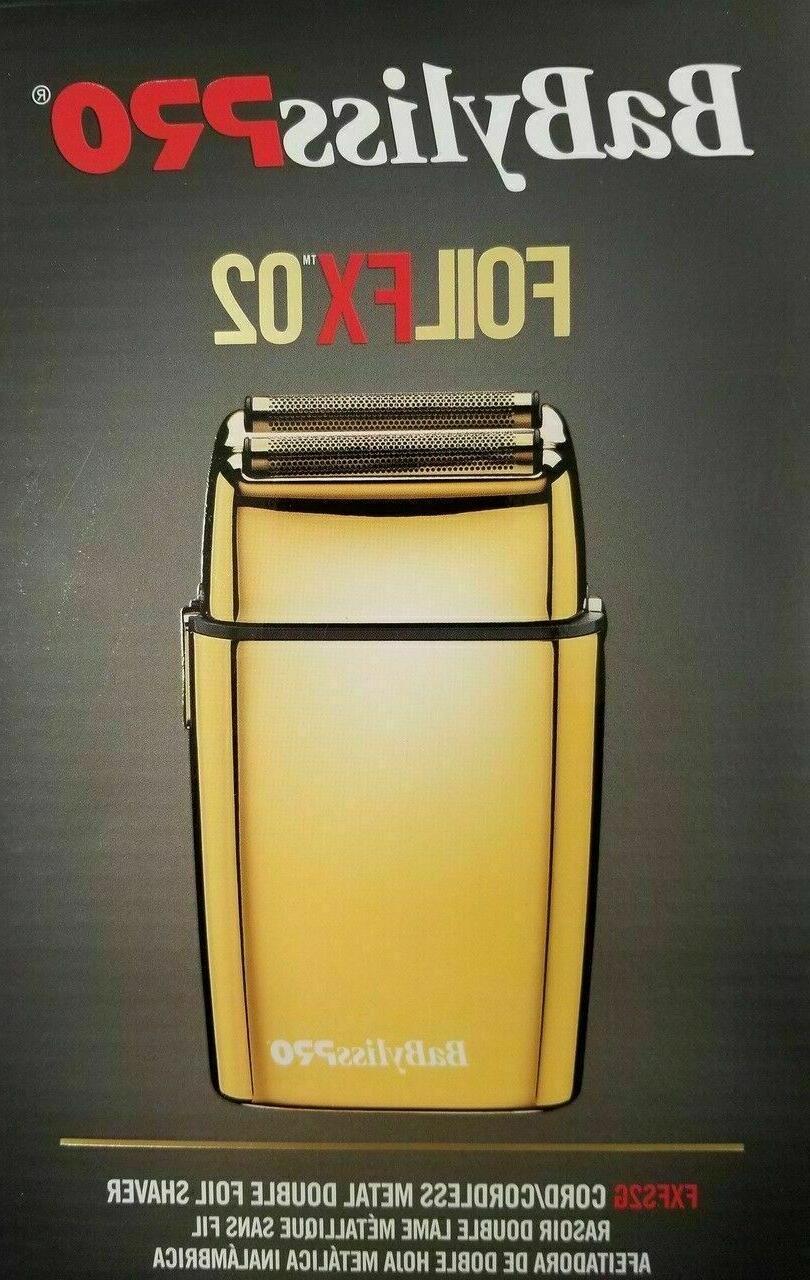 BaByliss PRO® FOILFX02™ Metal Shaver FXFS2G