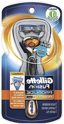 Gillette Fusion ProGlide Power Men's Razor with FlexBall Han