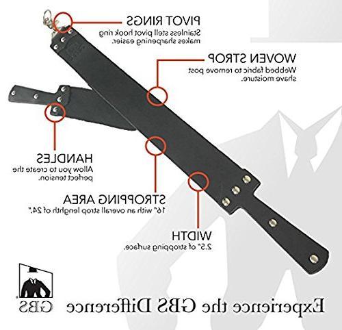 handmade black straight razor