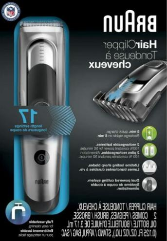 Braun HC5090 Hair Clipper and Trimmer for Men, Cordless & Re