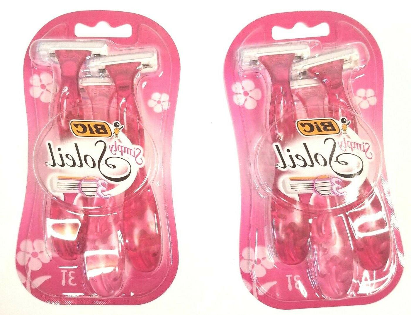 huge simply soleil disposable razors