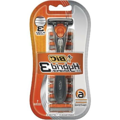 hybrid comfort 3 disposable system shaver men