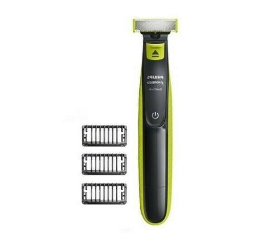 hybrid electric trimmer shaver oneblade