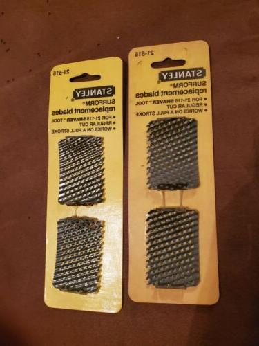 Stanley Consumer Tools 6 Packs Shaver Repl Blade