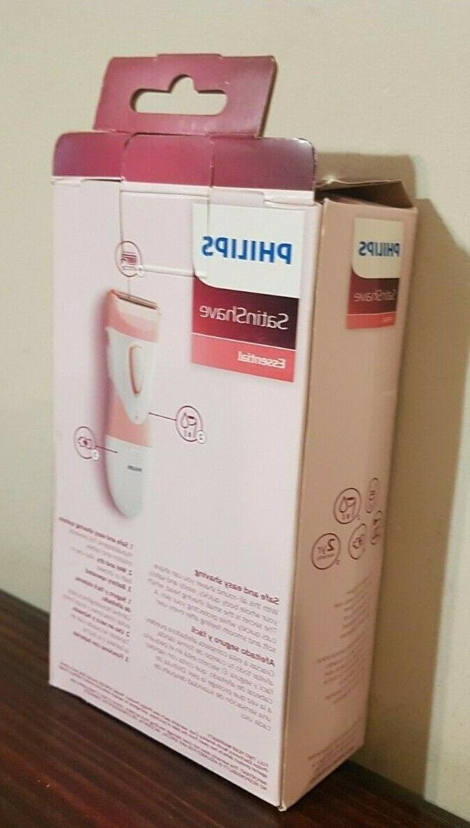 Philips SatinShave Essential Women's Electric Shaver for L