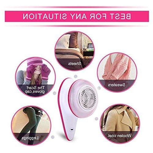 soogoo Lint Rechargeable Sweater Clothes Fuzz Shaver Clothes Fuzz, Couch,
