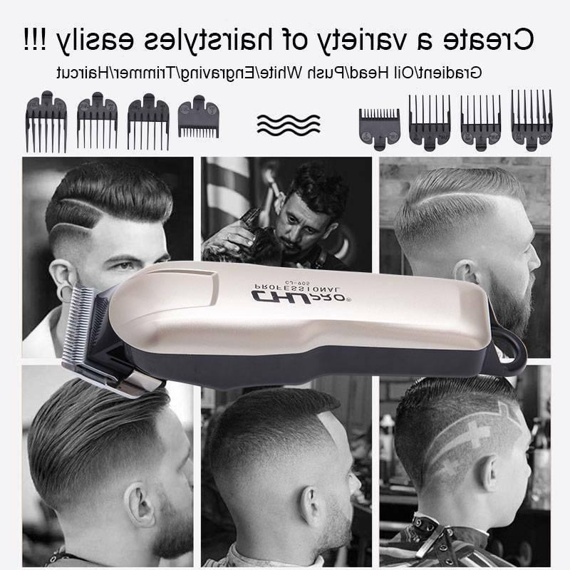 Luxury New Electric Hair Cutting Trimmers Barber Haircut