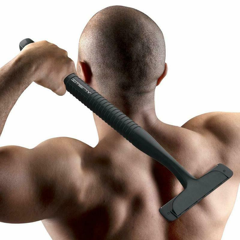 Men Back Shaver Body Groomer Hair Razor Long Shaving Handle