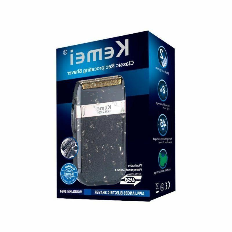 Men USB Rechargeable Machine Twin Blade