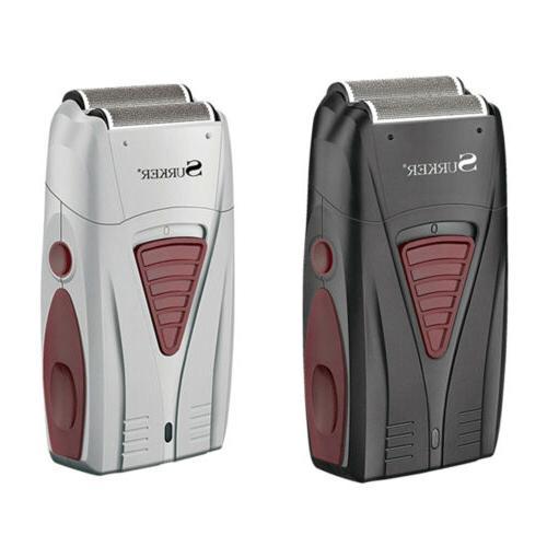 SURKER Men's Electric Foil Shaver Dual Foil Cordless Recharg