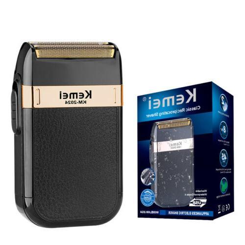 Men Electric Shaver USB Rechargeable Shaving Machine