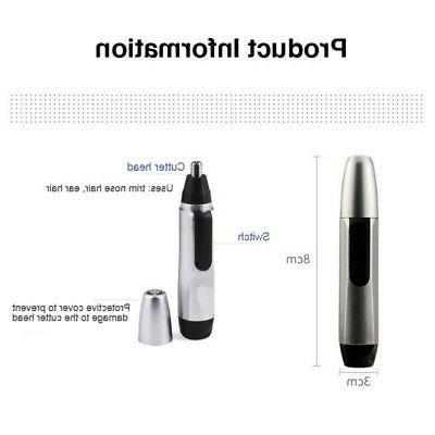 Electric Nose Ear Hair Trimmer Clipper Cleaner Remover