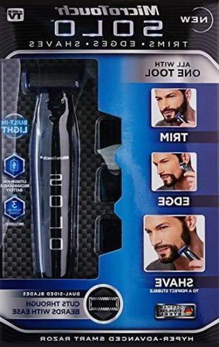 Micro Men USB Rechargeable Hair Razor Combs