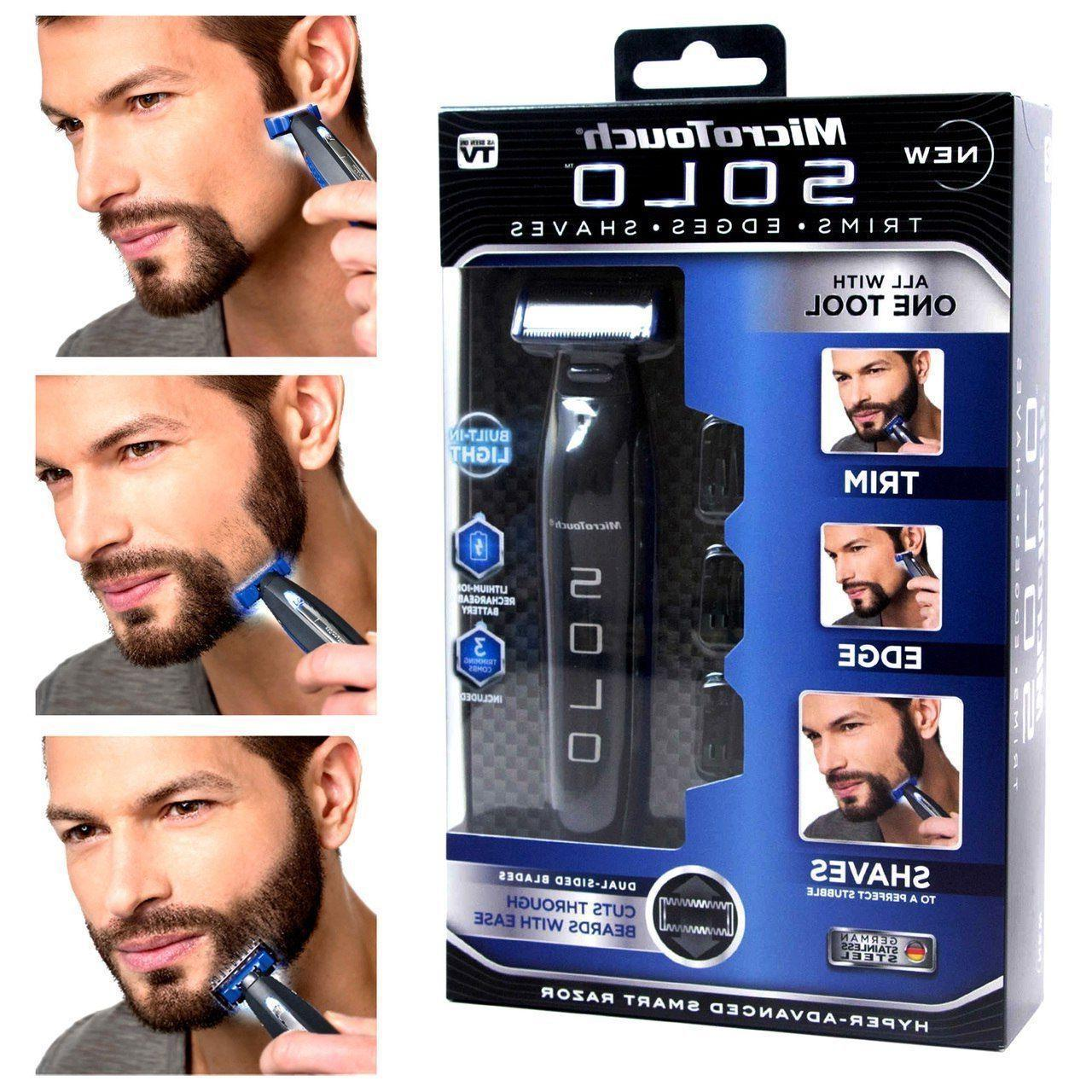 Micro USB Rechargerable Touch Electric Trimmer Razor Shaver