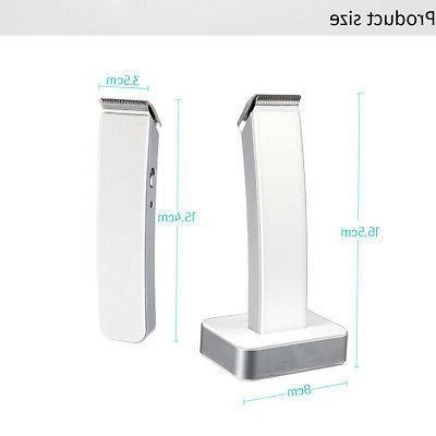 KEMEI Men Wireless Rechargeable Hair Clipper Trimmer Beard Razor