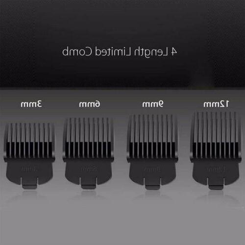 KEMEI Men's Black Electric Shaver Razor Nose Body Hair USA