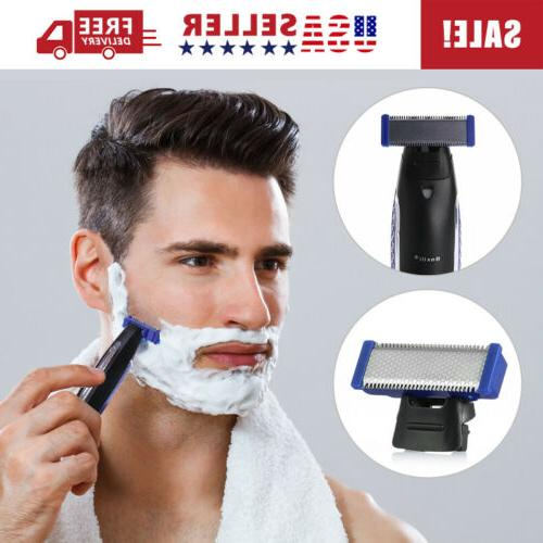 Micro Touch SOLO Automatic Electric Shaver Rechargeable Trims