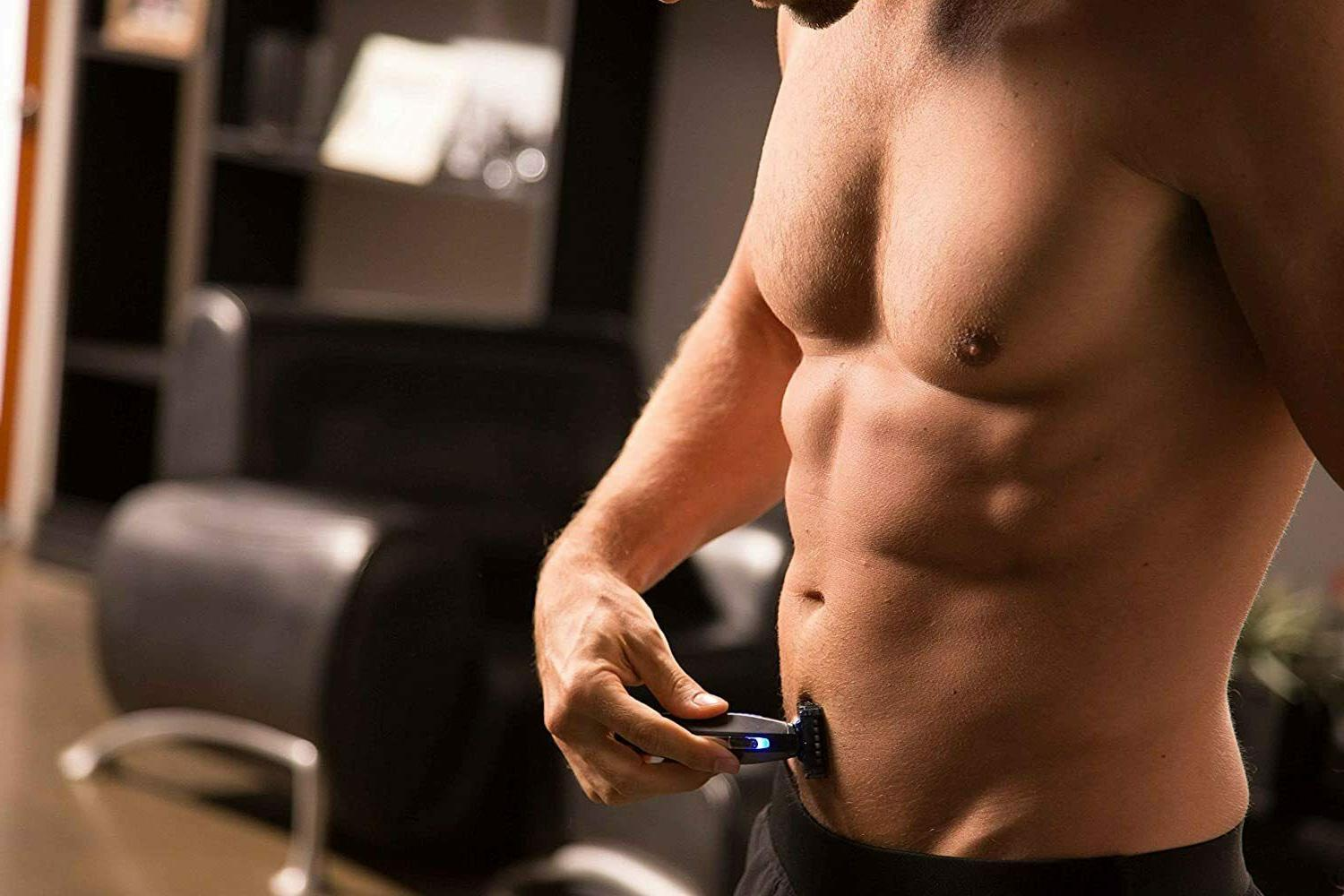 Micro SOLO Men's Rechargeable Body Hair Trimmer, and