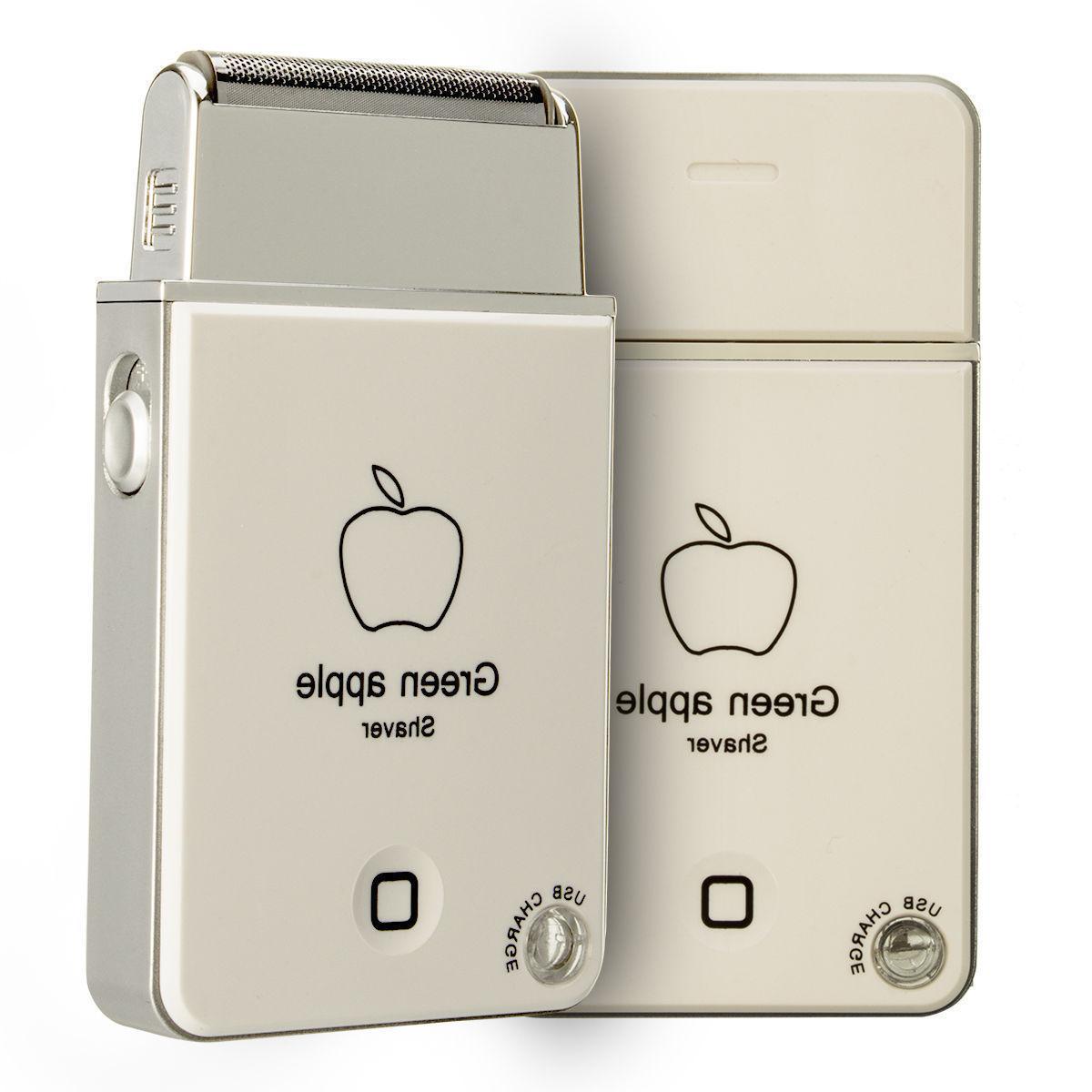 Mini Portable Men's Electric Foil Shaver Razor USB Rechargea