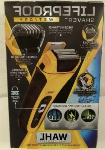 NEW! WAHL SHAVER Ion Water-Proof