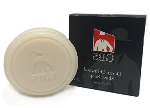 ocean driftwood shave soap