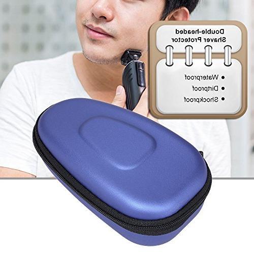 Anself Electric Shaver Storage Case EVA Carry Protector Box