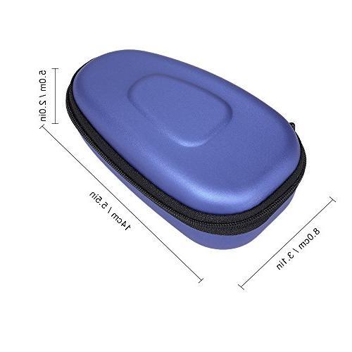Anself Portable Electric Shaver Case Hard EVA Carry Shaver Holder Protector Bag Box