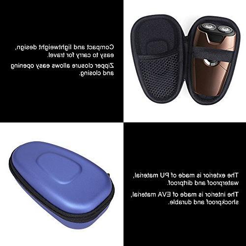 Anself Portable Shaver Case Hard EVA Protector Bag