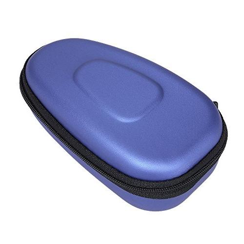 portable double headed electric shaver storage case
