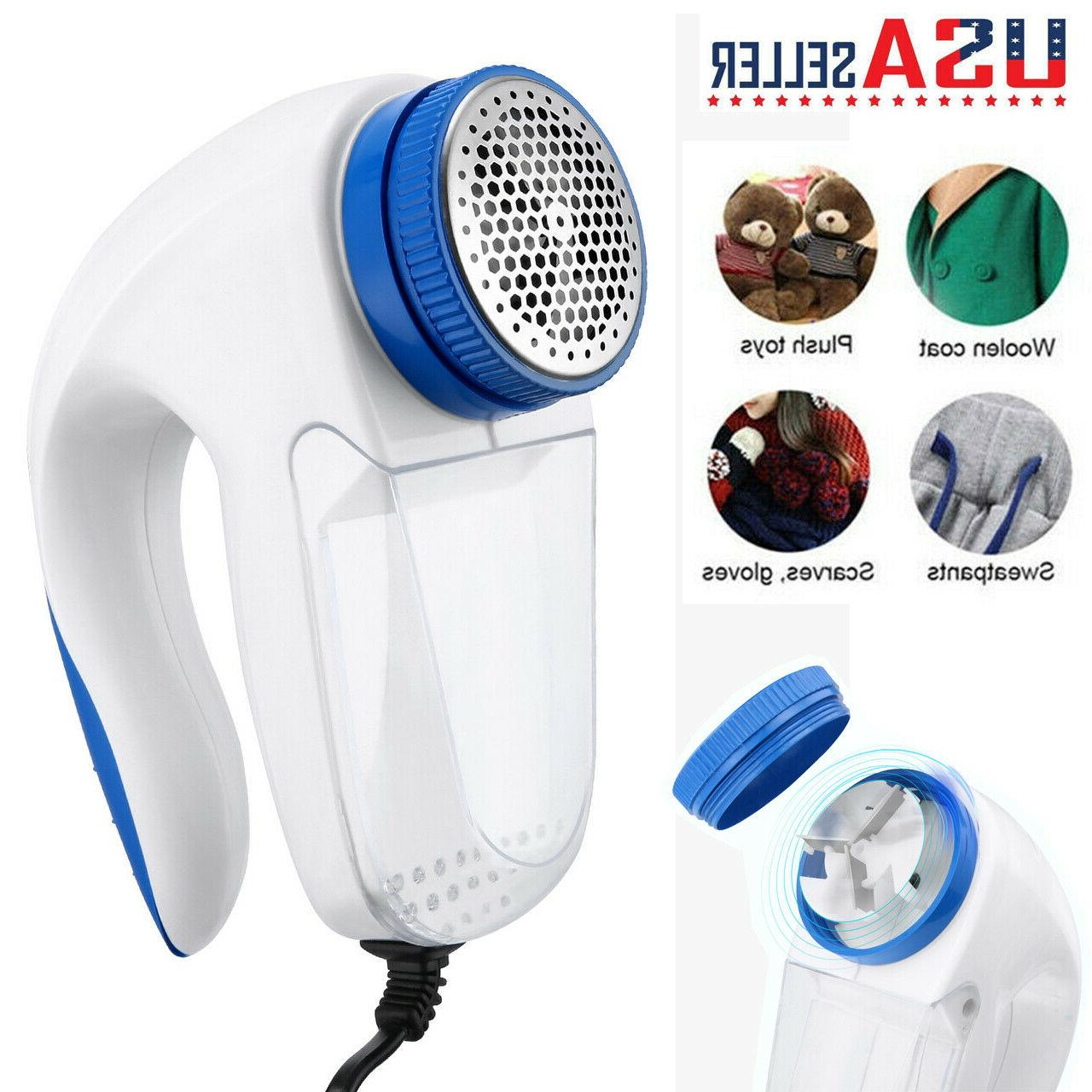 portable electric clothes lint pill fluff remover