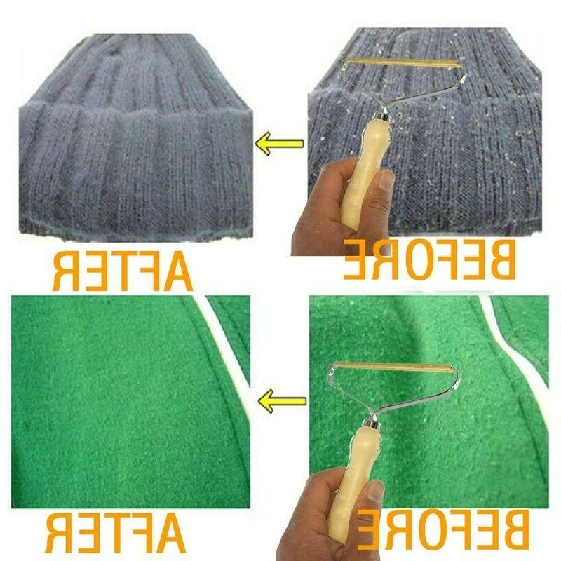 1/2X Portable Lint Remover Clothes Fuzz Fabric Removing