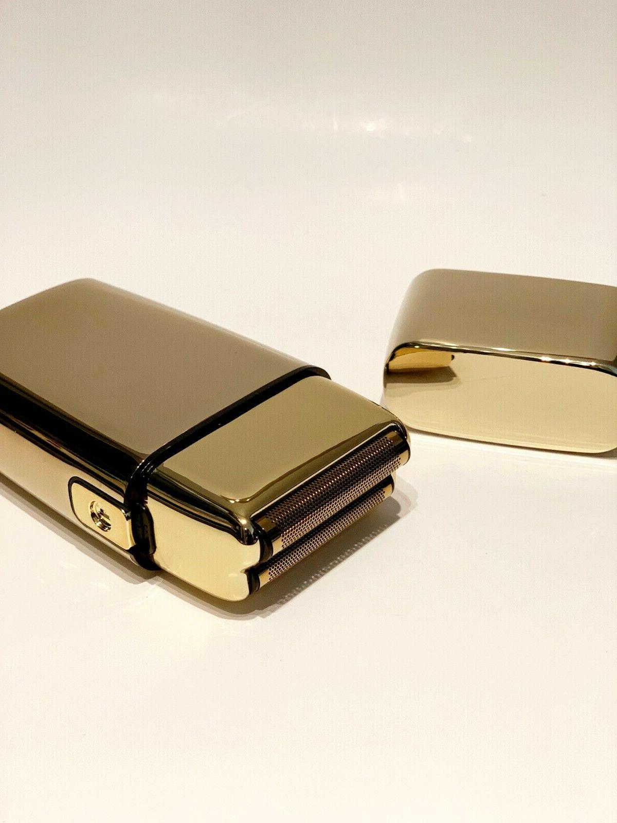 Metal GOLD Double Shaver FXFS2G
