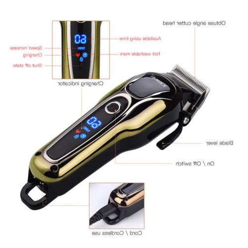 KEMEI Professional Electric Hair Shaver