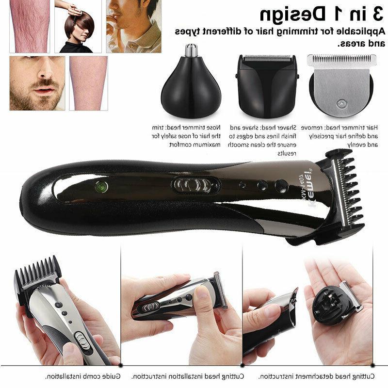 Professional Hair Clipper Cutter Cordless Razor