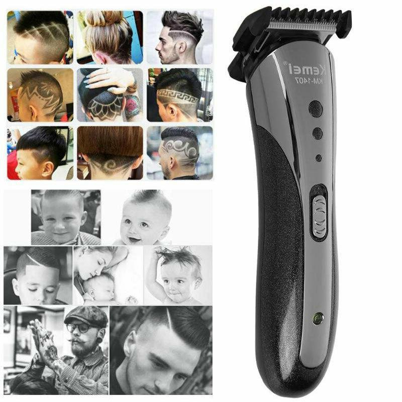 Professional Hair Clipper Shaver Trimmer Cutter Cordless Razor