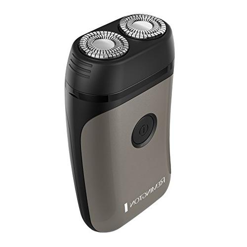 Remington Rotary Shaver, Men's Electric Electric Shaver, Grey