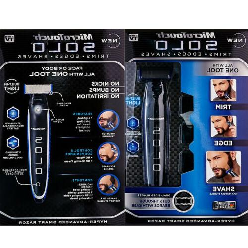 Razor Shaver Edges Electric SOLO Rechargeable