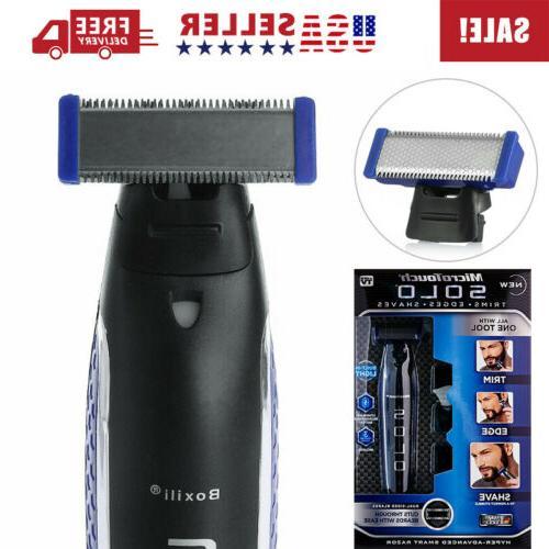 Razor Shaver SOLO Trims Rechargeable Men