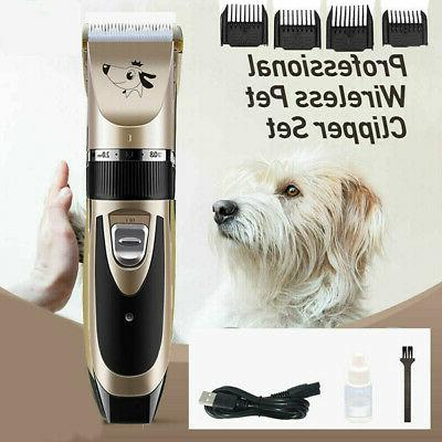 Pet Shaver Hair Clipper Set for Dogs Cat Haircut Accessories