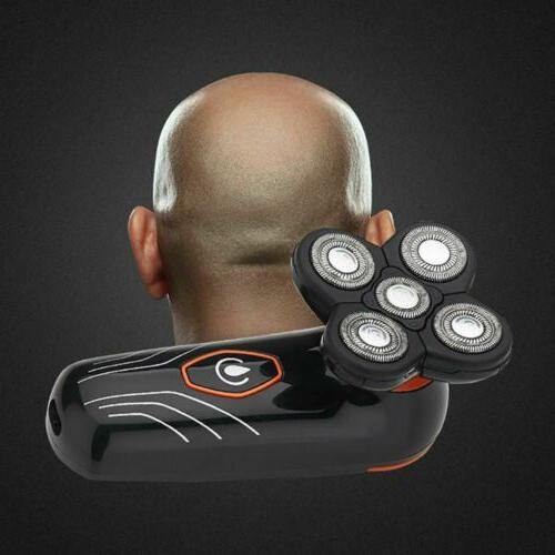 Rechargeable 5 Men Electric Hair Bald