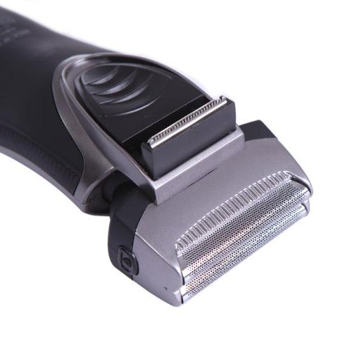HDE Rechargeable Cordless Shaver Precision Groomer Double