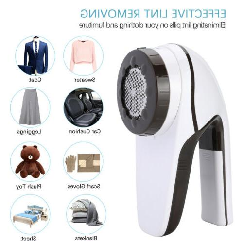rechargeable 6 blade fabric fuzz shaver lint