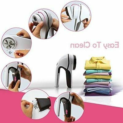 Rechargeable Electric Clothes Pill Fluff Sweater Fuzz Shaver