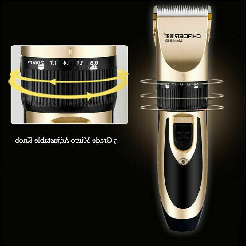Rechargeable Men Haircut Trimmer Grooming