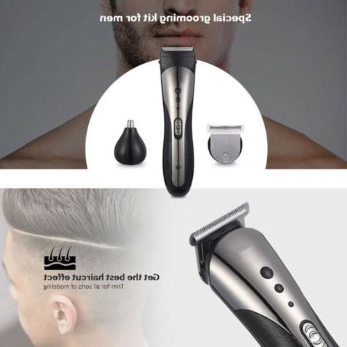 Rechargeable Razor Shaver Nose Set